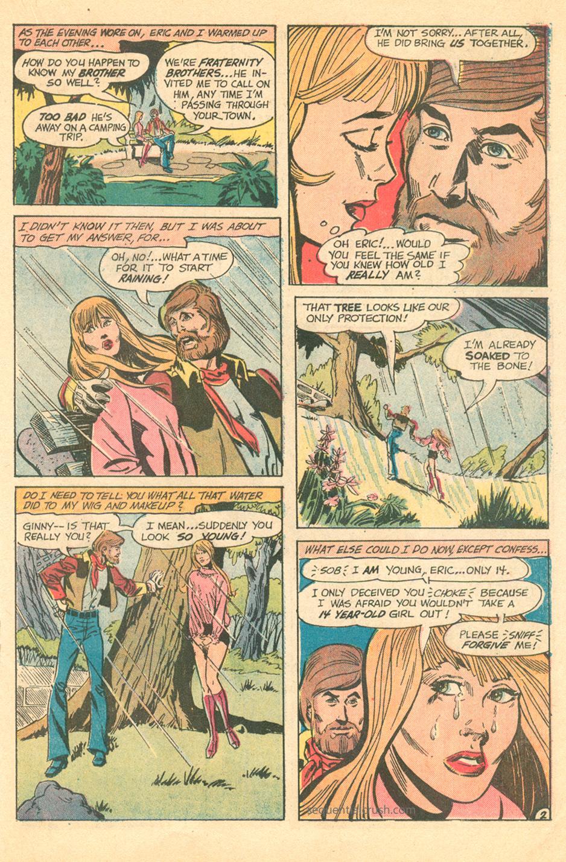 Howard Chaykin Romance Comic Book Story for DC Comics