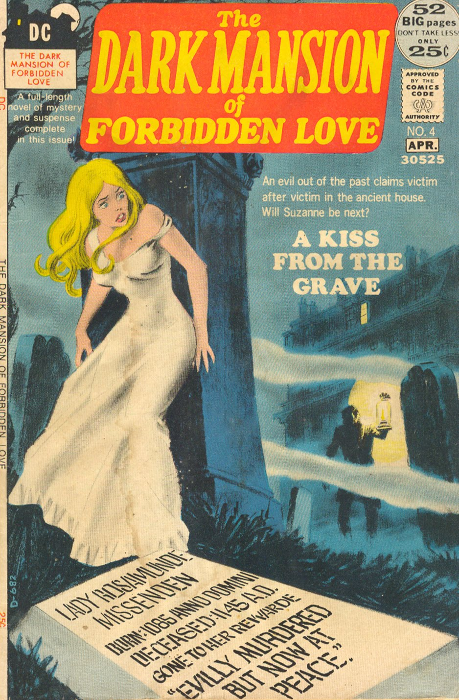 Gothic Romance comics were short-lived in the 1970s but are making quite the comeback!