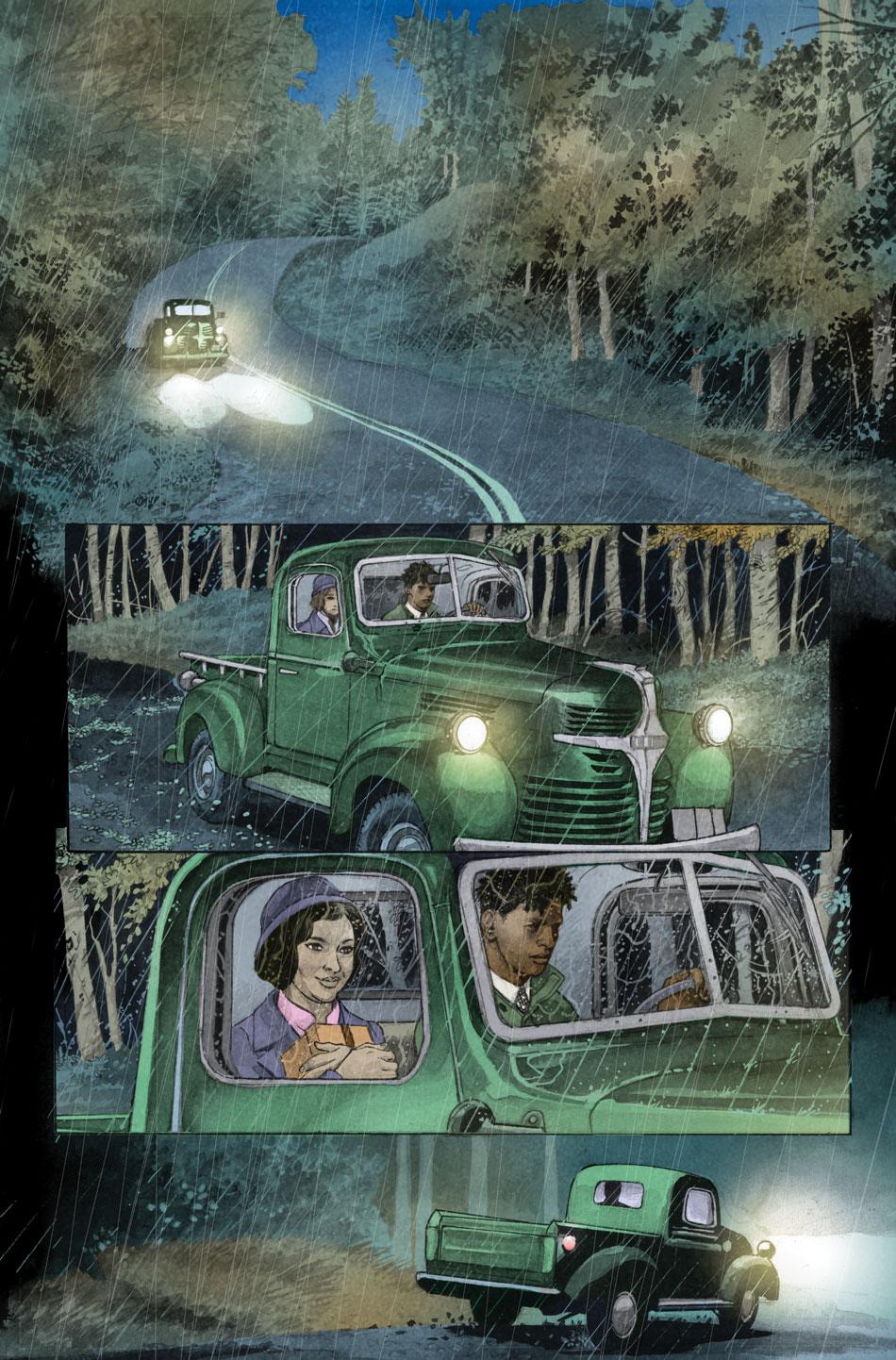 Modern Gothic Romance Comic from DC Comics Deadman