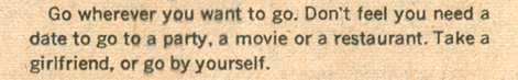 Romance Comic Book Advice How to Go Steady