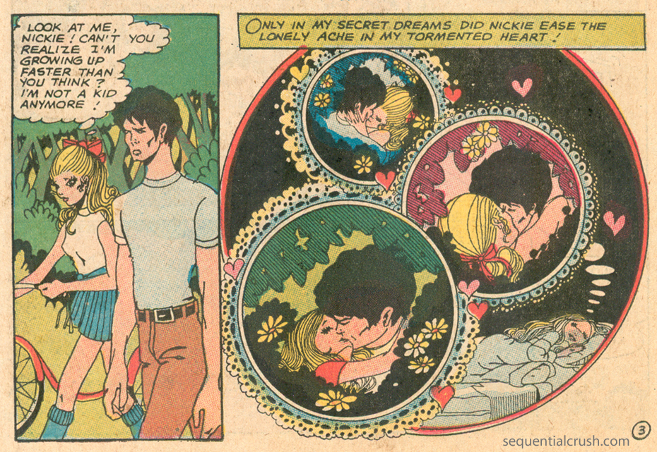 Romance Comic Books Liz Berube Elizabeth Sequential Crush Romance Story