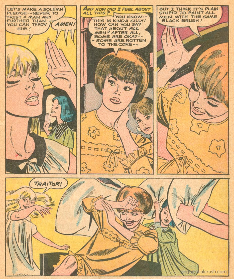 Romance Comic book art by Jay Scott Pike