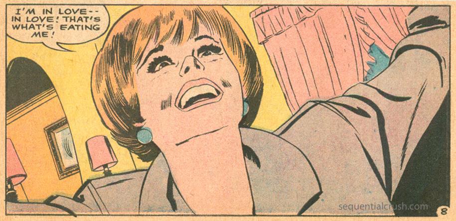 Romance comic book jay scott pike