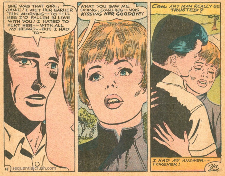Happily Ever After Romance Comic book Jay Scott Pike