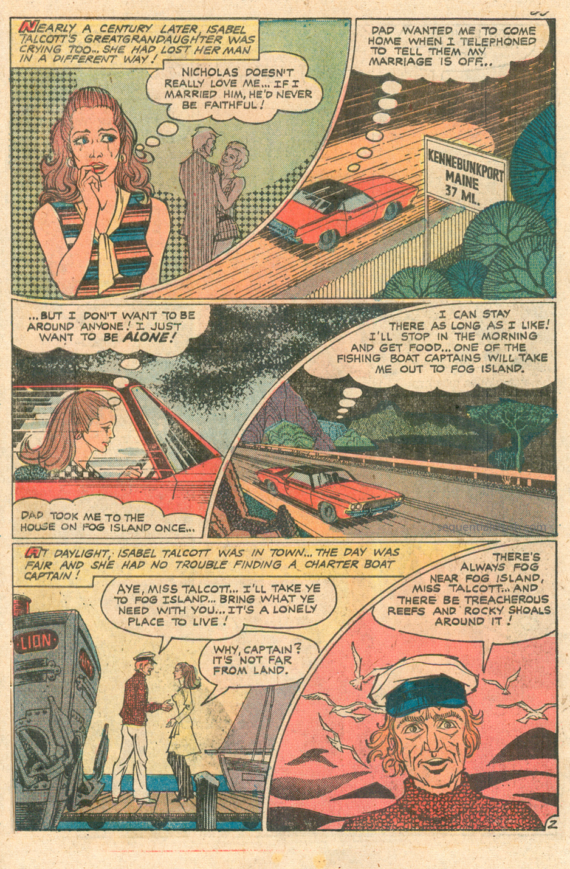 Charlton Comics Gothic Romance Comic Book Haunted Love #9 1970s
