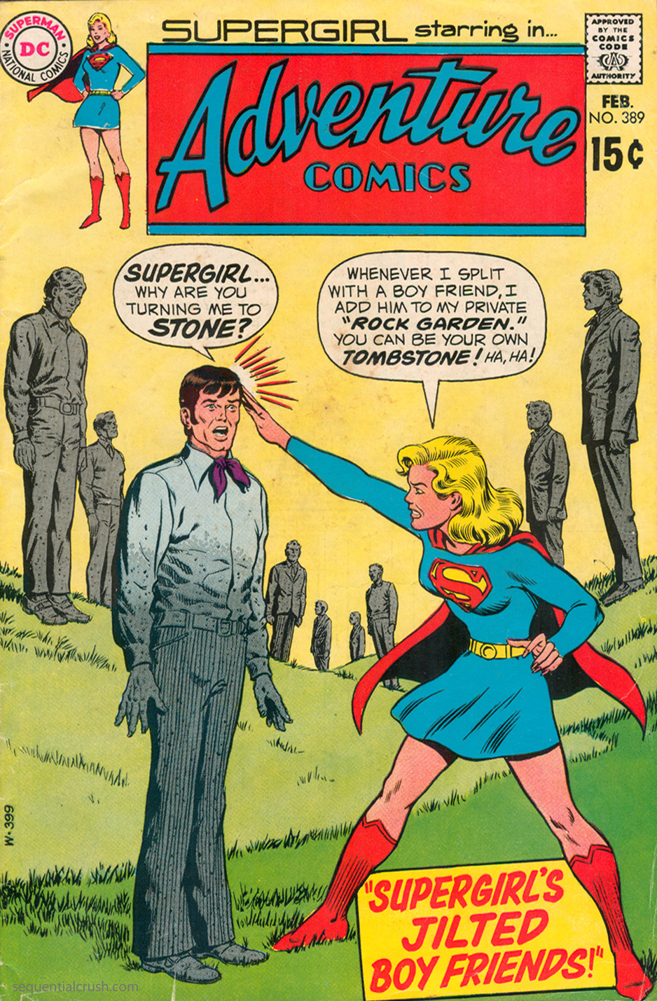 Adventure Comics  #389 (February 1970) Pencils: Curt Swan, Inks: Murphy Anderson