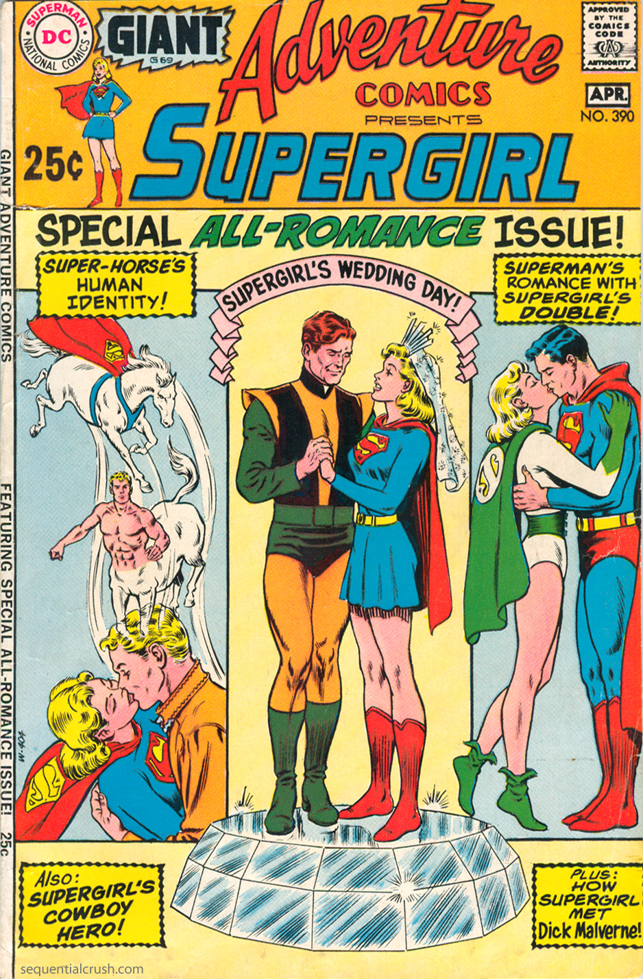 Adventure Comics  #390 (March/April 1970) Pencils: Curt Swan, Inks: Murphy Anderson