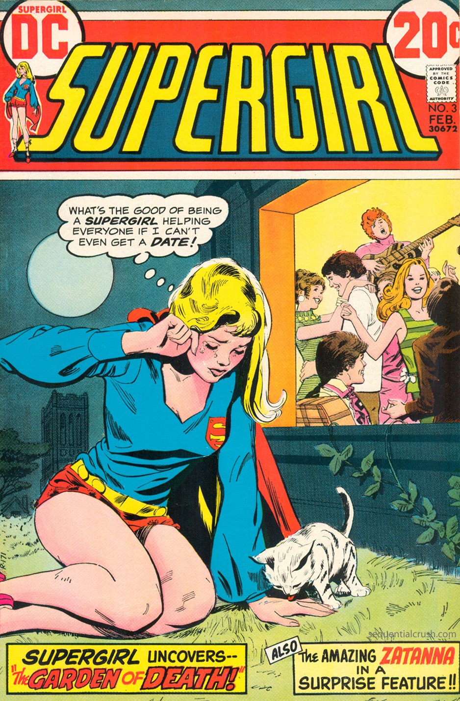 Supergirl  #3 (February 1973) Pencils and Inks: Bob Oksner