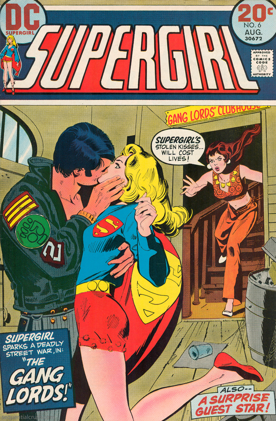Supergirl  #6 (August 1973) Pencils and Inks: Bob Oksner