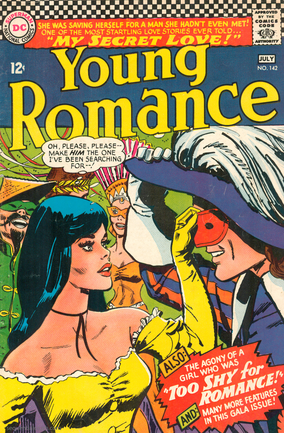 Young Romance  #142 (June/July 1966) Pencils: Jay Scott Pike
