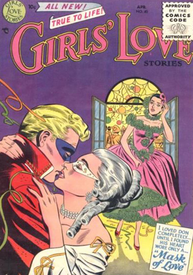 Girls' Love Stories  #40 (March/April 1956) Pencils: Mike Sekowsky, Image from the Grand Comics Database