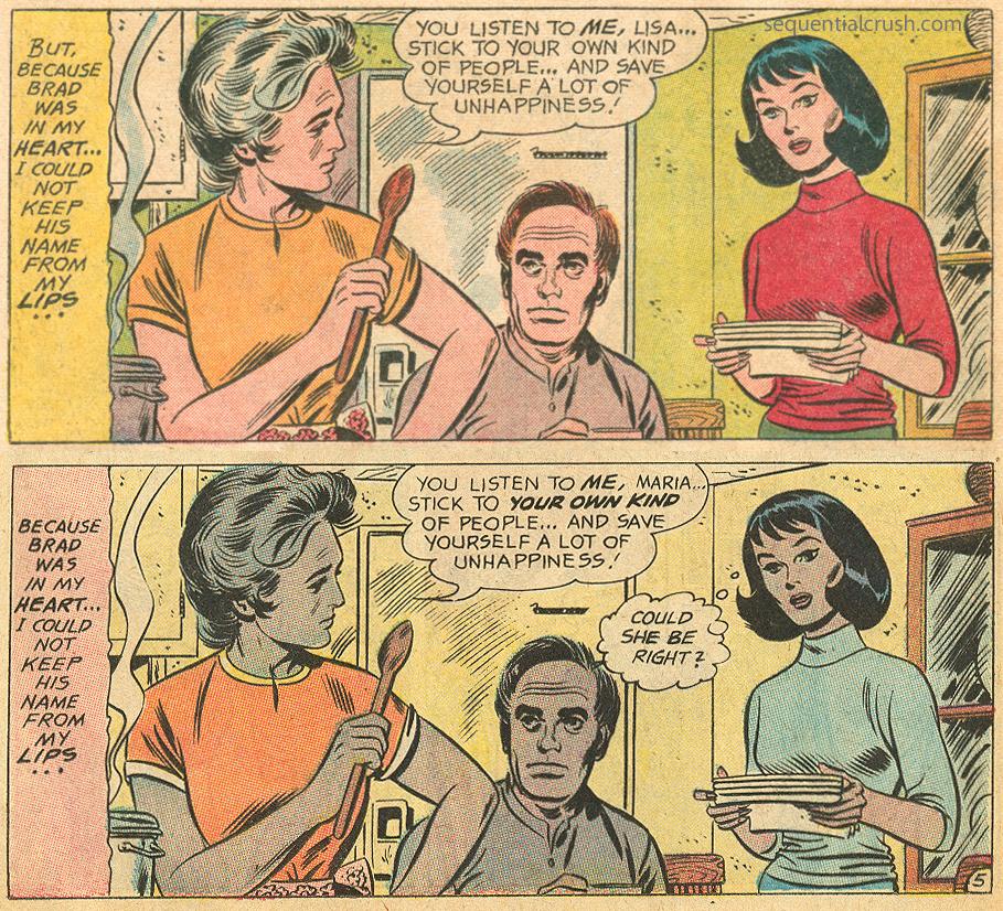 Parents don't understand Romance Comic books