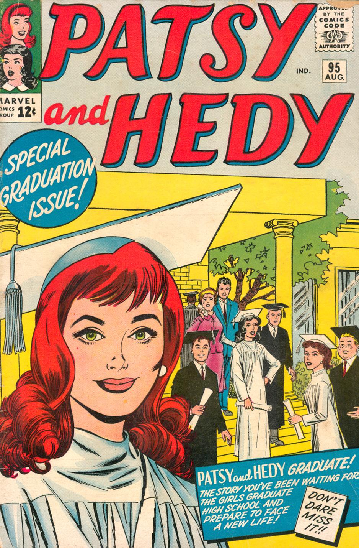 Patsy Walker and Hedy graduate high school teen comics Marvel Stan Lee