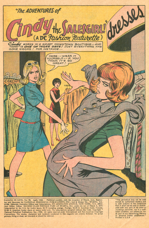 Remembering Win Mortimer best romance comic book artist Falling in Love 1968 fashion