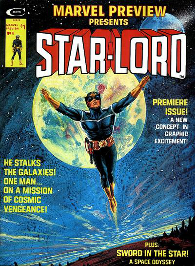 Star-Lord's First Appearance was in  Marvel Preview  #4 (January 1976)
