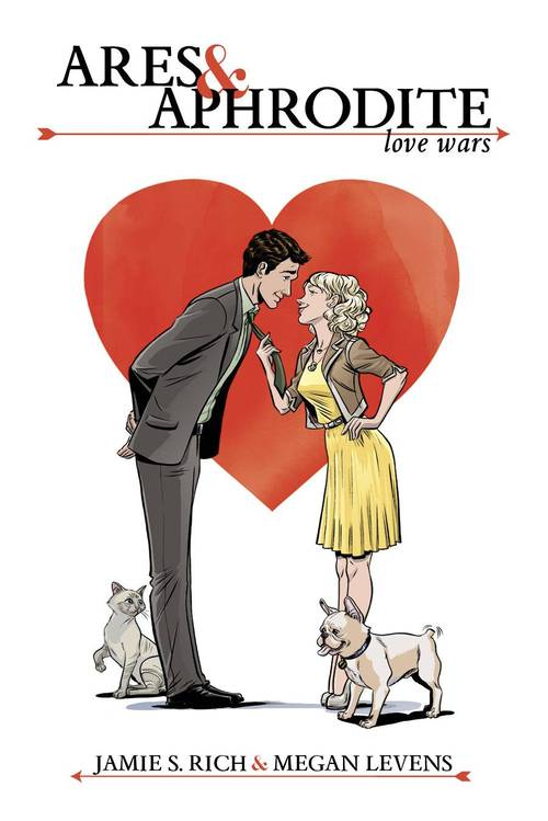 Ares and Aphrodite New romance comic book Oni Press Jacque Nodell afterword