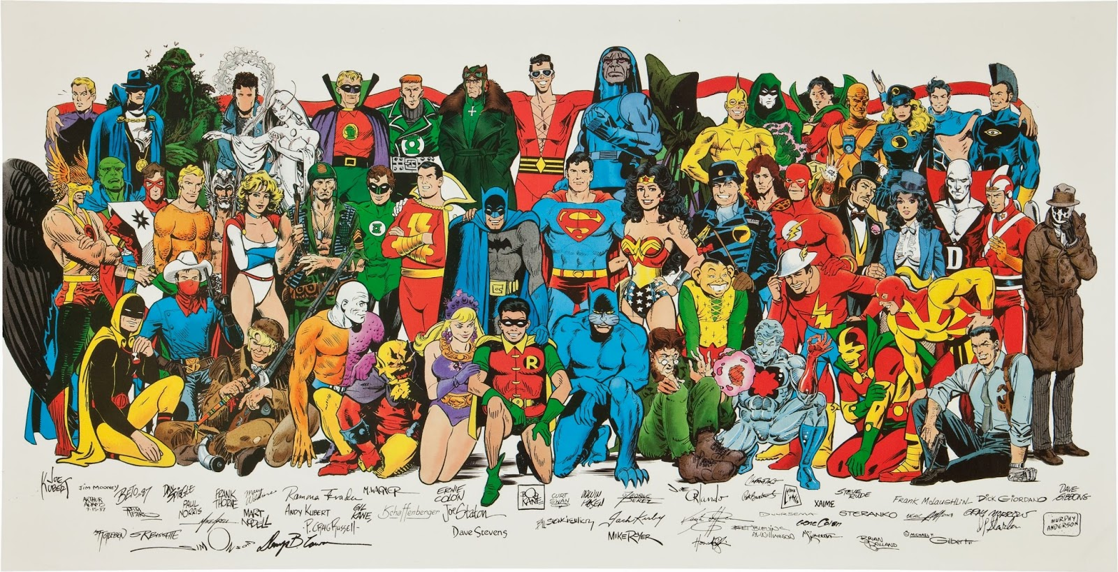 "DC ""Jam Poster"", Image from  Heritage Auctions"
