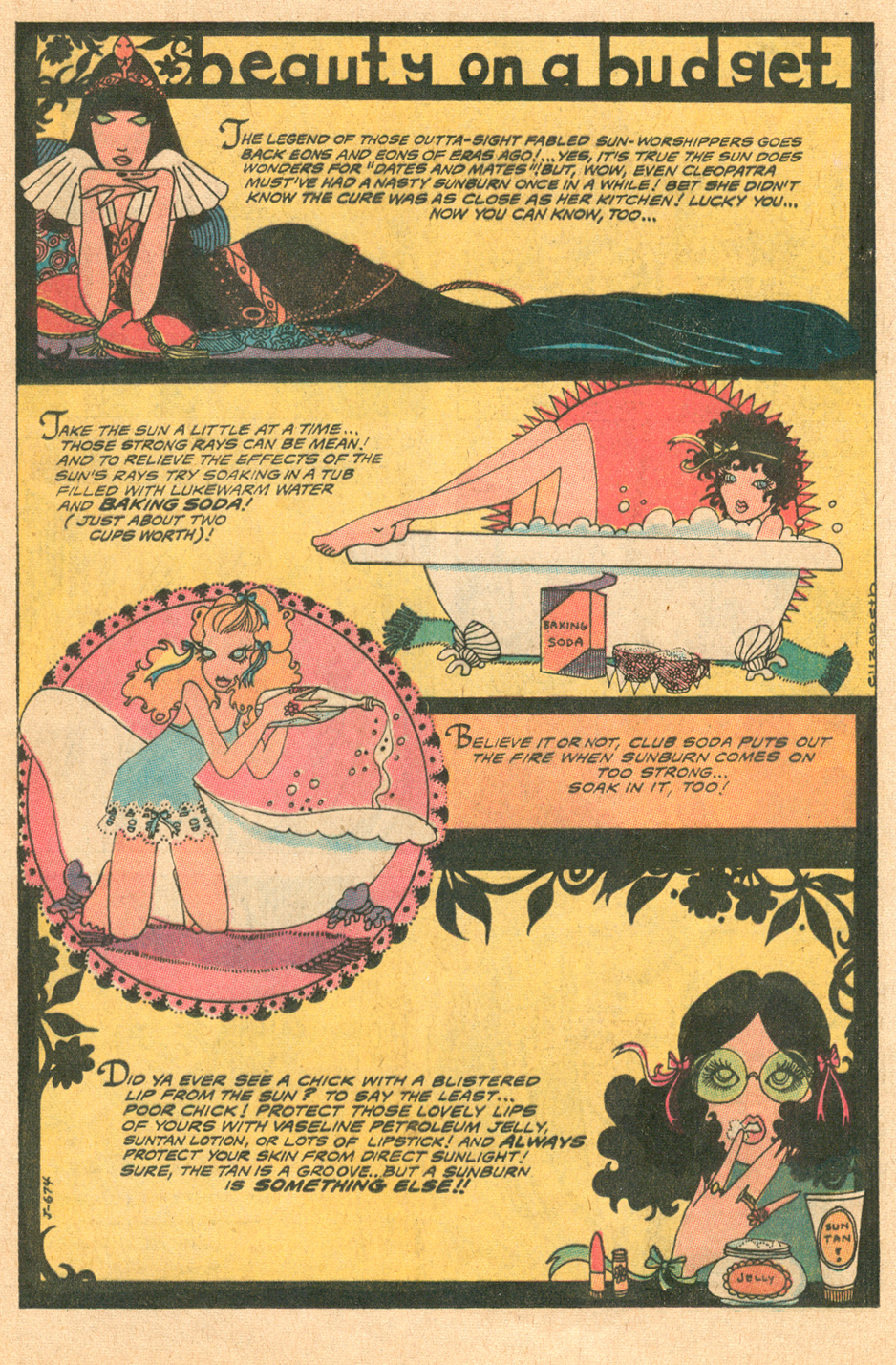 Young Romance  #166 (June/July 1970)
