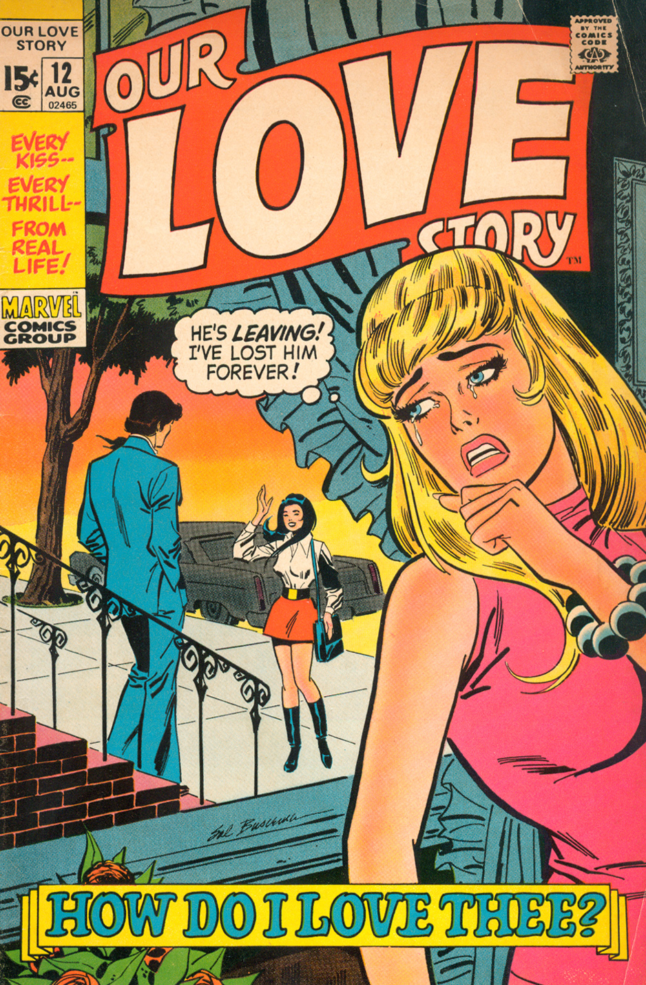 Cover art by Sal Buscema