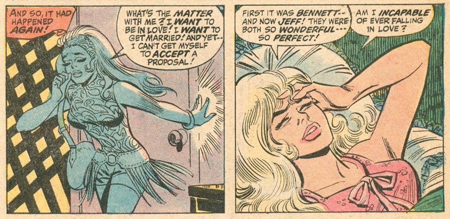 Our Love Story #12 1971 Stan Goldberg Archie artist Marvel romance comics