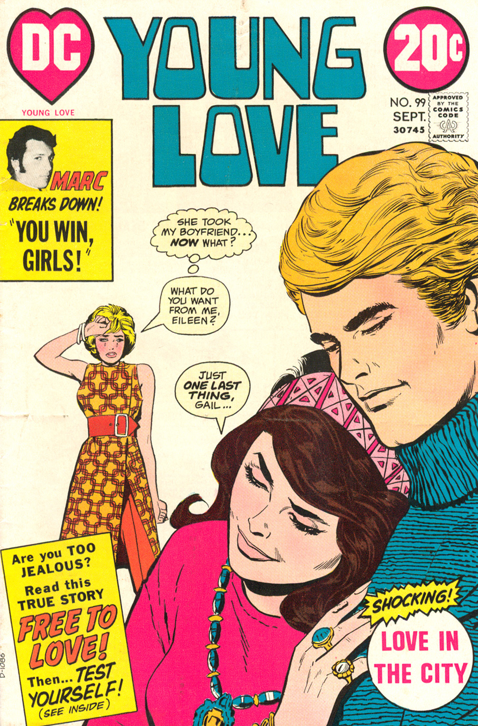 Young Love  #99 (September 1972)
