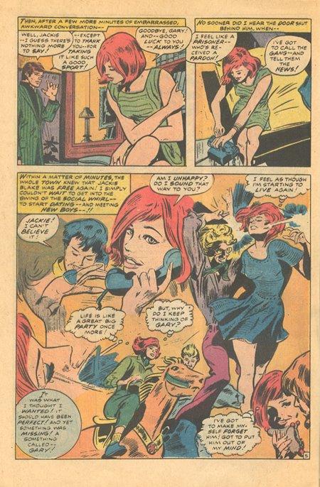 Marvel romance comics Gene Colan art