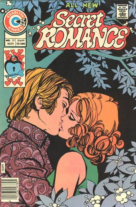 Charlton Secret Romance romance comic
