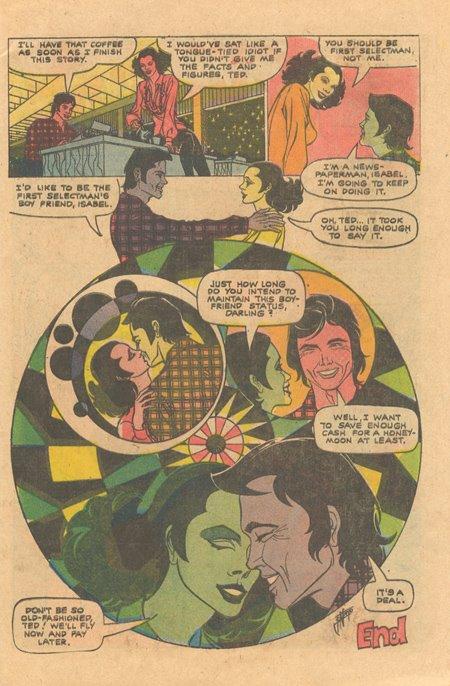 Enrique Nieto charlton romance comics