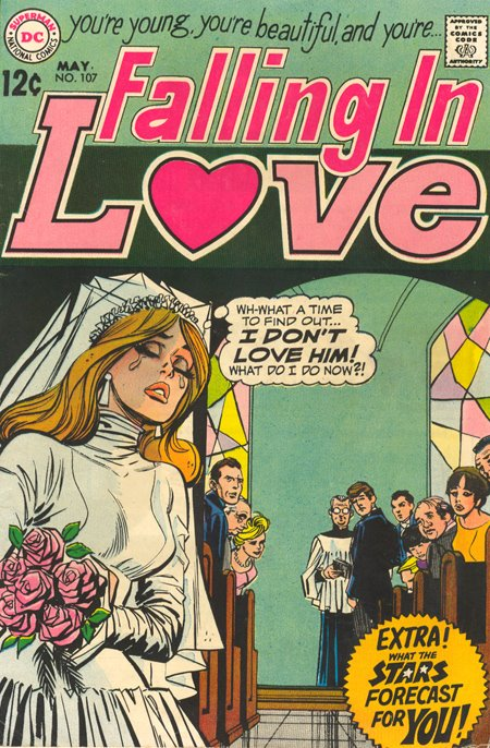 Falling in Love  # 107 (May 1969). I'm thinking its Cardy inked by Colletta, but not positive about that.