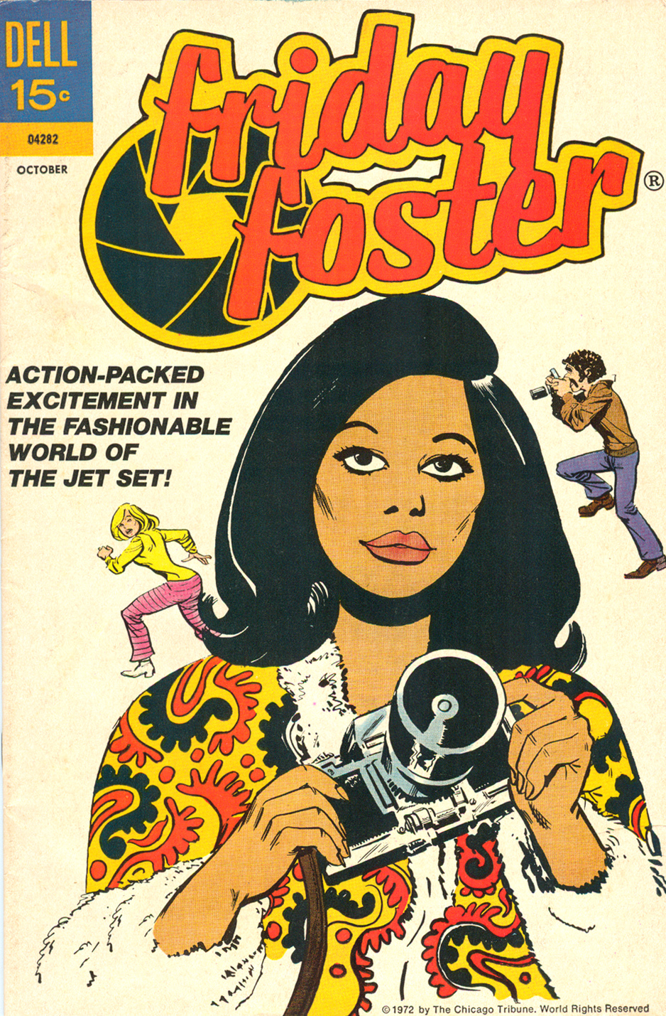 Friday Foster  (October 1972) Comic Book by Dell