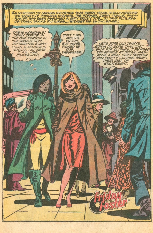 Friday Foster  (October 1972) Dell Comic