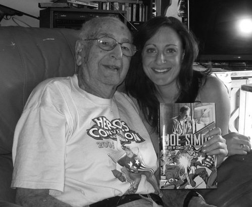 Megan with her grandfather, Photo from  Time to Kvetch