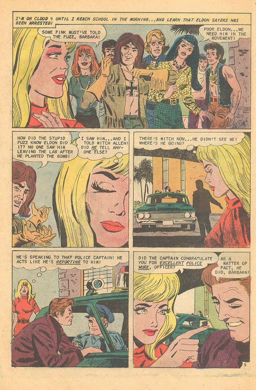 Charlton Comics romance comics Hippy and the Cop