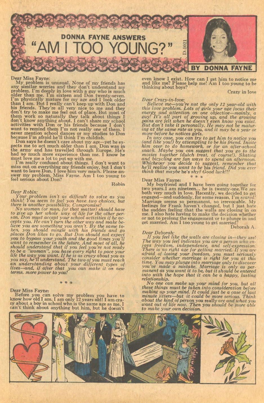 Heart Throbs #143 (July 1972)