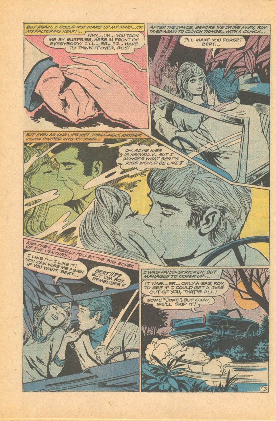 """""""Which Love is Mine?""""  Girls' Love Stories  # 146 (October 1969)"""