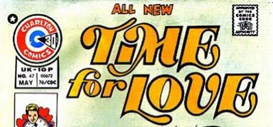 The last logo for  Time for Love  was only used for issue #45 (December 1975) through issue #47 (May 1976)