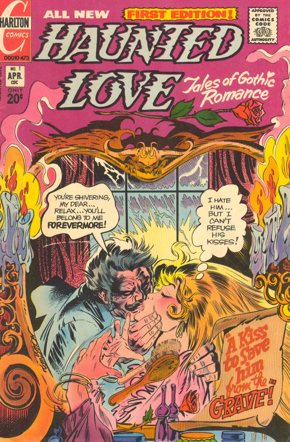 Haunted Love Tales of Gothic Romance Charlton Sequential Crush