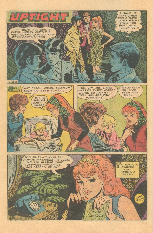 Lee Elias Romance Comic book cautionary tale Black Cat