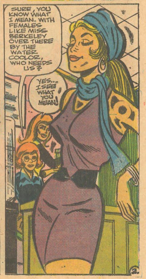 """""""Heartbreak Ahoy""""  Secret Romance  #35 (November 1975)"""