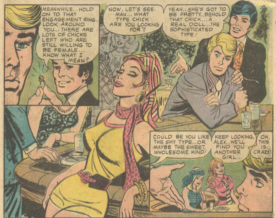 """""""His Plaything""""  Young Love  #112 (October/November 1974)"""