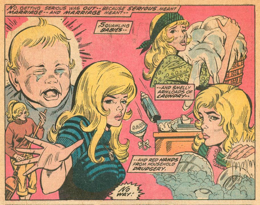 My Love #33 Paty Cockrum romance comic book artist Steve Englehart
