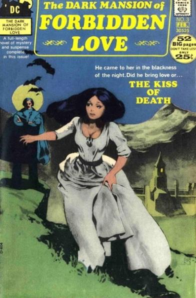 The Dark Mansion of Forbidden Love  #3  (January/February 1972) Pencils and Inks: Jeffrey Catherine Jones