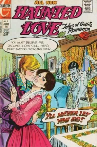 Haunted Love  #2 (June 1973) Pencils and Inks: Frank Bolle