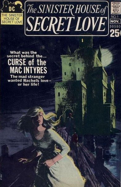 The Sinister House of Secret Love  #1 (October/November 1971) Painted by Victor Kalin