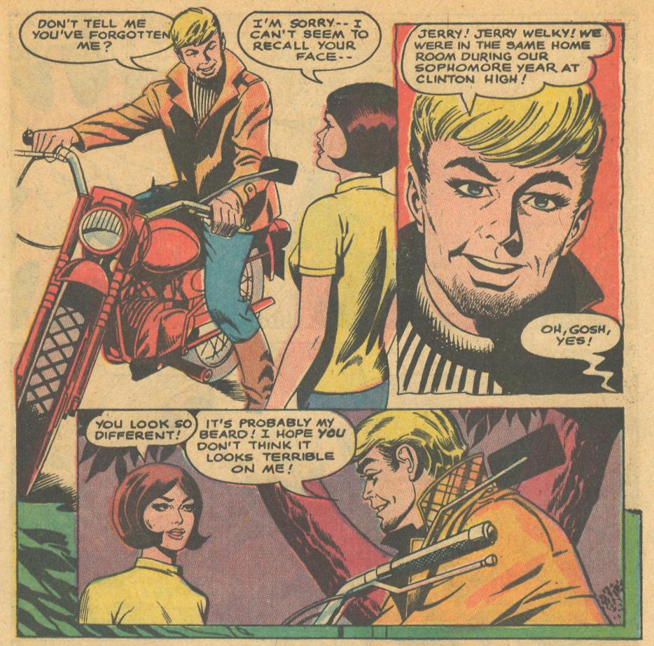 Falling in Love romance comic book story