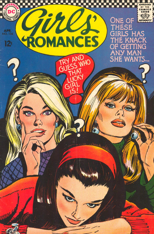 Girls' Romances #124, April 1967 Jay Scott Pike Cover