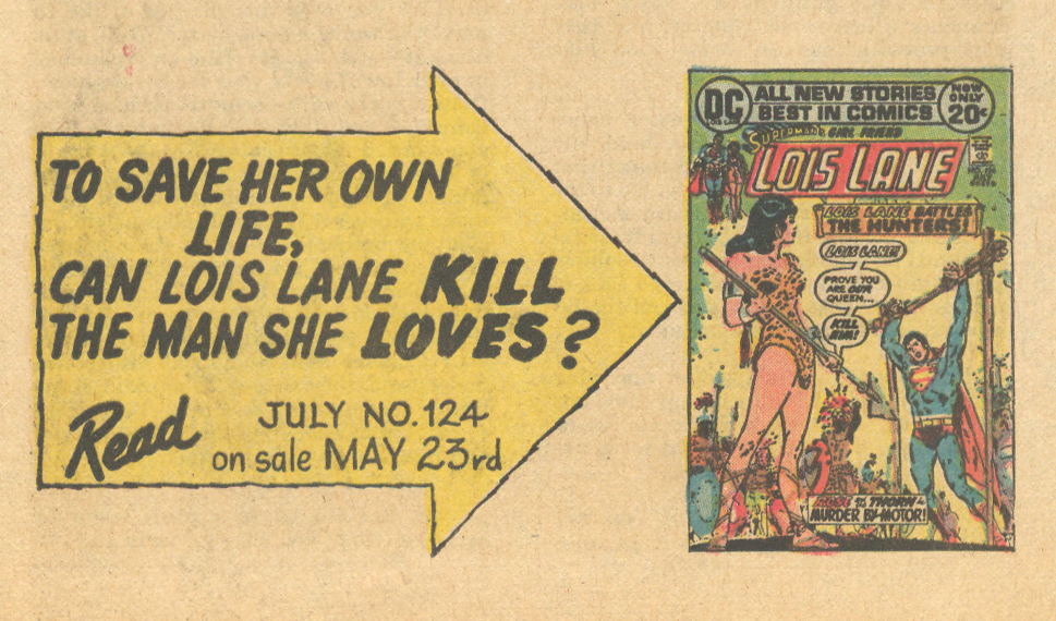 House Ad from  Young Romance  #184 (July 1972)