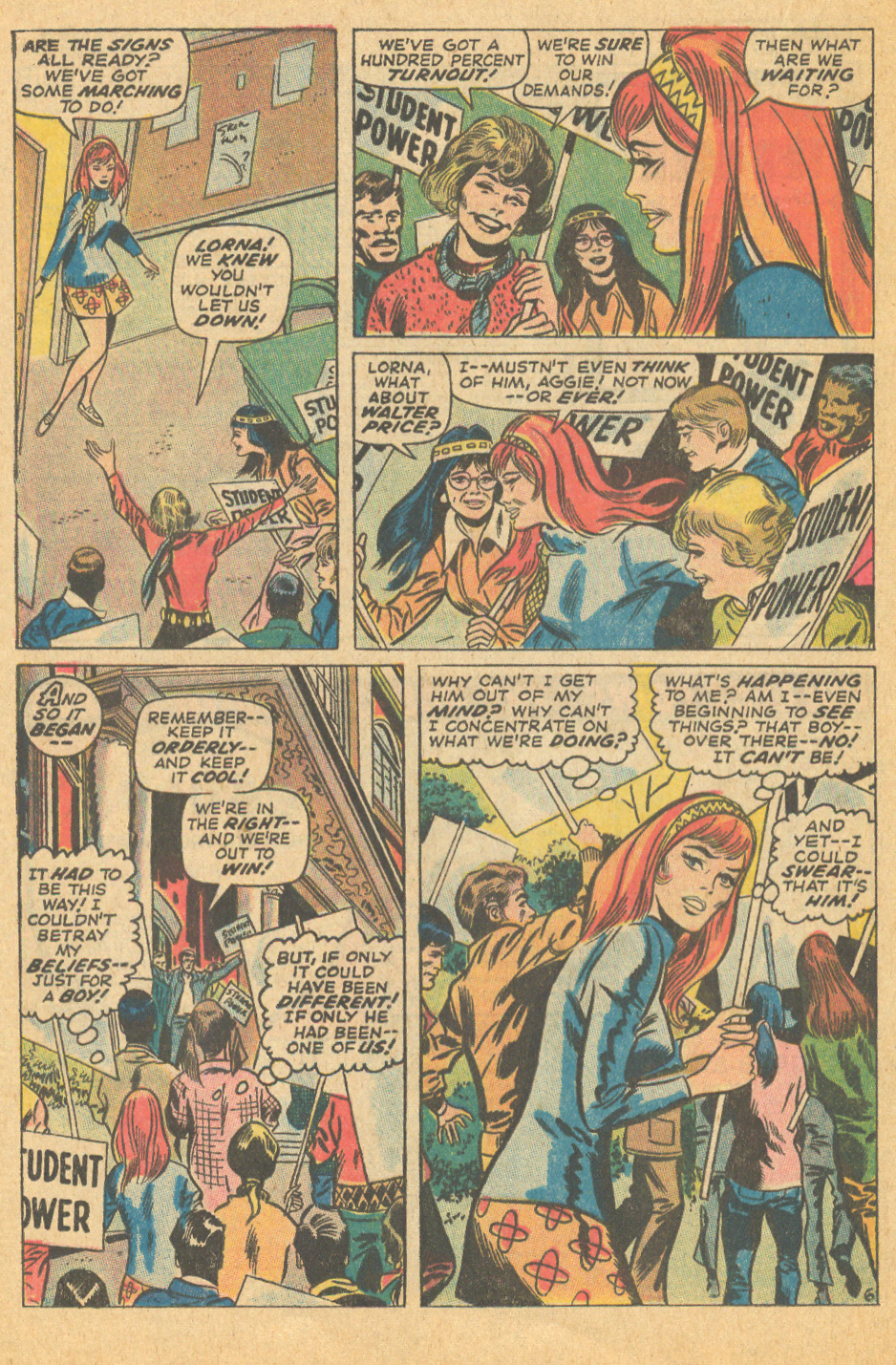 Don Heck romance comic book from Marvel