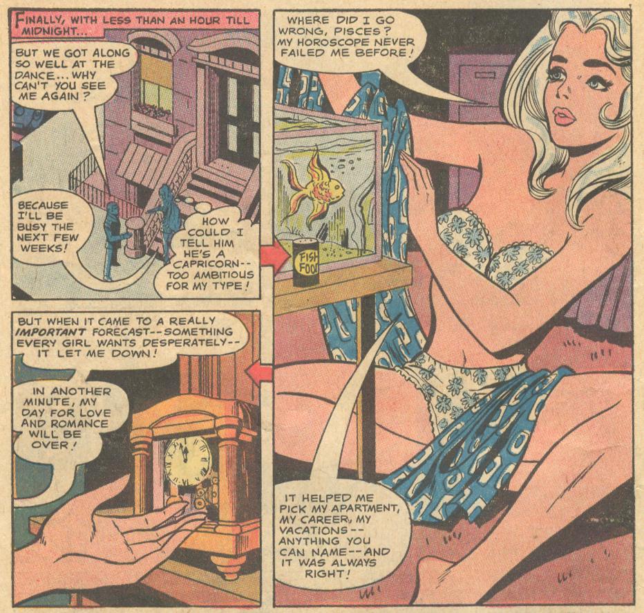 Girls' Romances #152 (October 1970) Ric Estrada romance comic book sequential crush