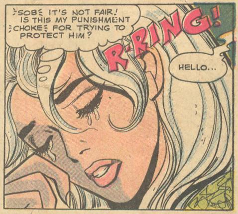 Girls' Romances comic book Ric Estrada